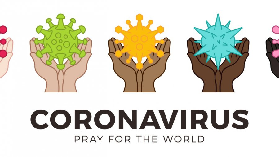 Pray for the World coronavirus image