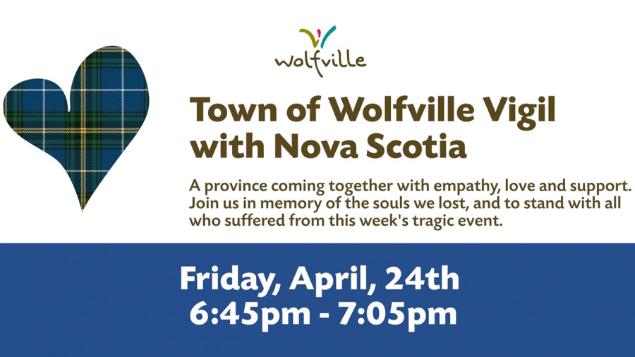 Vigil with Nova Scotia – Friday April 24