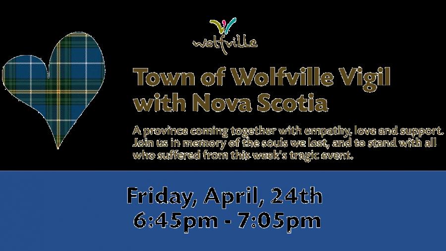 Vigil with Nova Scotia – Friday April 24